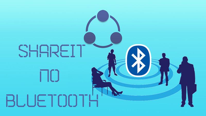 Shareit по Bluetooth