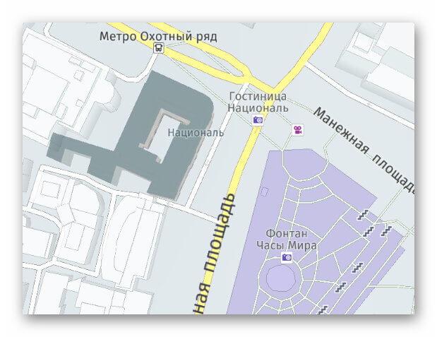 Карта Here WeGo