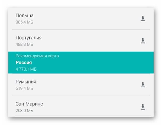 Россия в Here WeGo