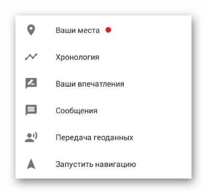Google хронология