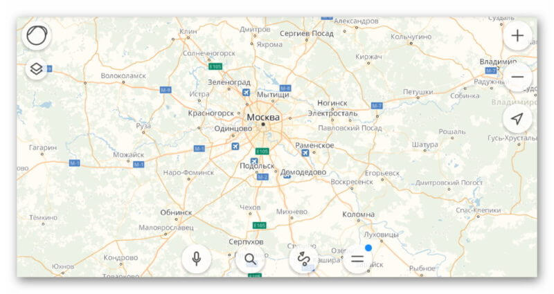 Карта Яндекс.Карт