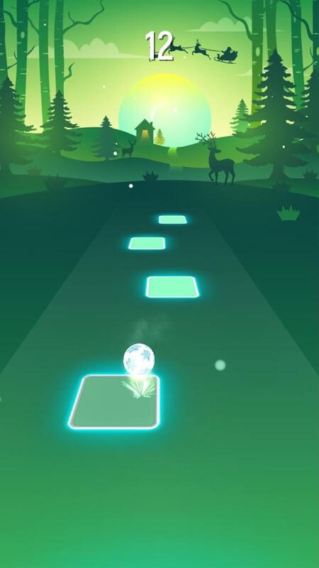 Игра Tiles Hop на Андроид
