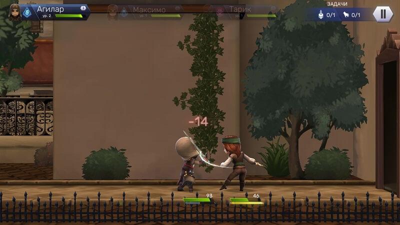 Сражение в Assassin's Creed Восстание для Android