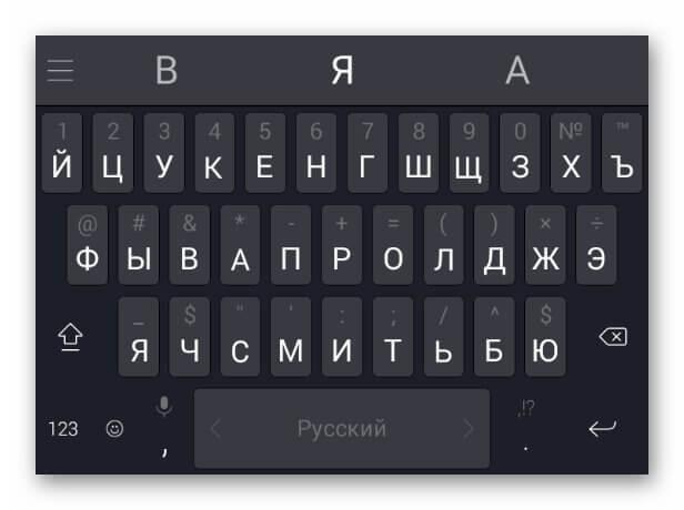 Клавиатура SwiftKey