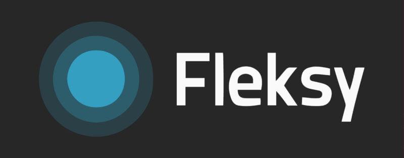 Логотип клавиатуры Fleksy