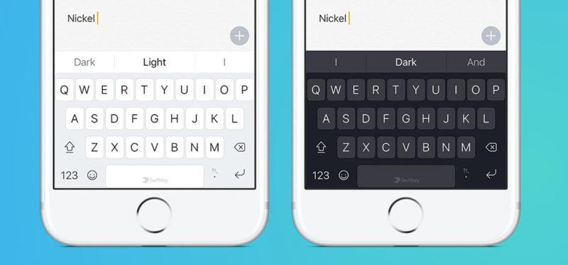 Интерфейс клавиатуры Логотип SwiftKey