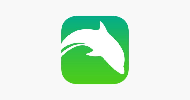 Логотип браузера Dophin