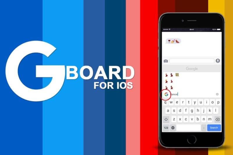 Gboard клавиатура для iOS