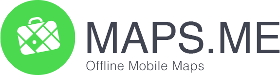 Логотип навигатора MAPS.ME iPhone iOS