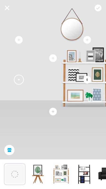 Обставление комнаты в ZEPETO на Андроид