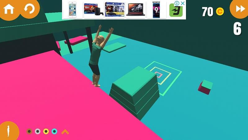 Прыжок в Flip Trickster на Андроид