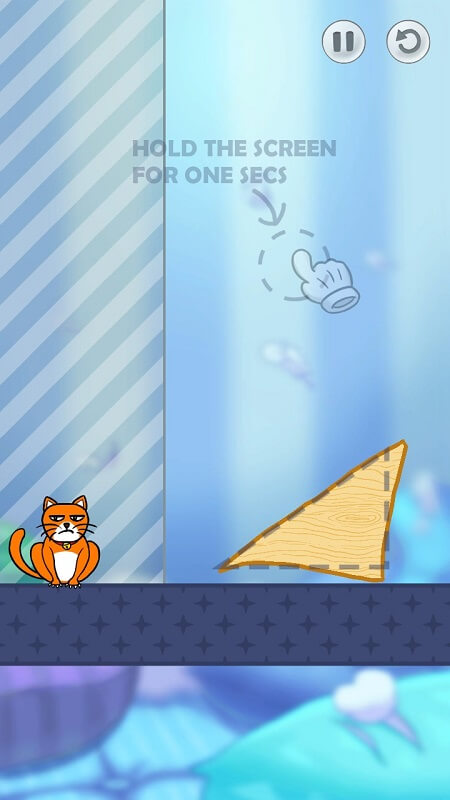 Рисуем фигуру в Hello Cats на Андроид