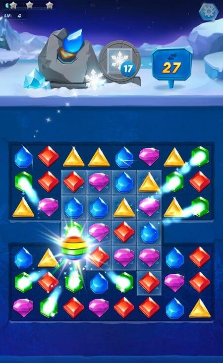 Многоцветный камень в Jewel Blast для Android