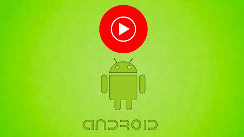 YouTube Music для андроид