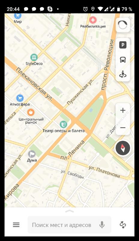 Дополнительные возможности Яндекс Карты