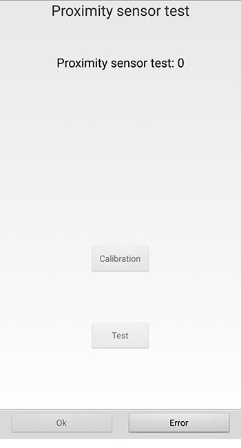 Калибровка датчика приближения для Android