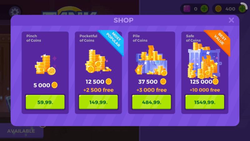Магазин монет