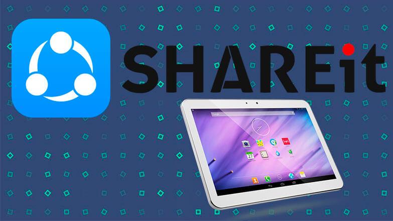 SHAREit на планшет