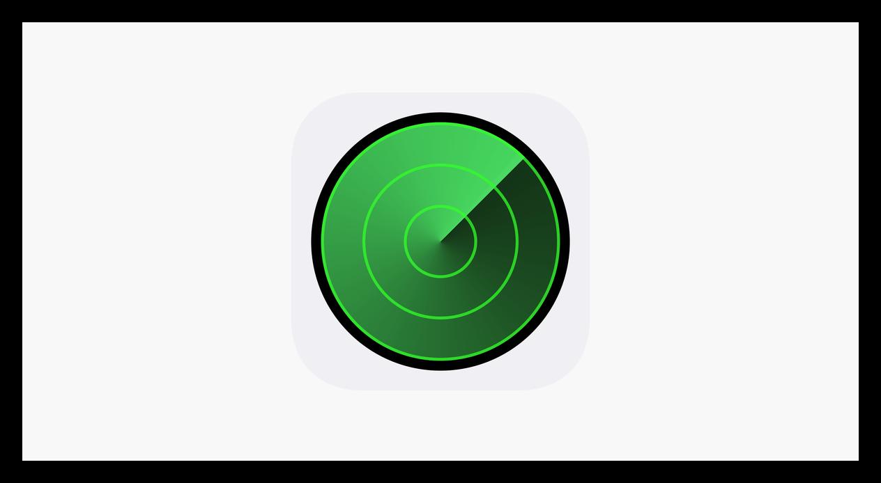 Логотип сервиса по поиску iPhone