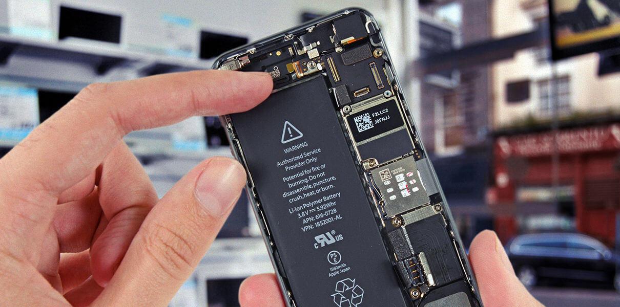 Пример смартфона без съемного аккумулятора