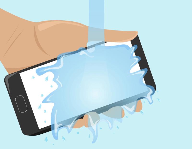 Попадание влаги внутрь телефона Андроид