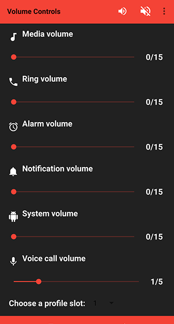 Quick Volume Controls для Андроид