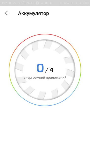 Аккумулятор сканирование энергоемких приложений