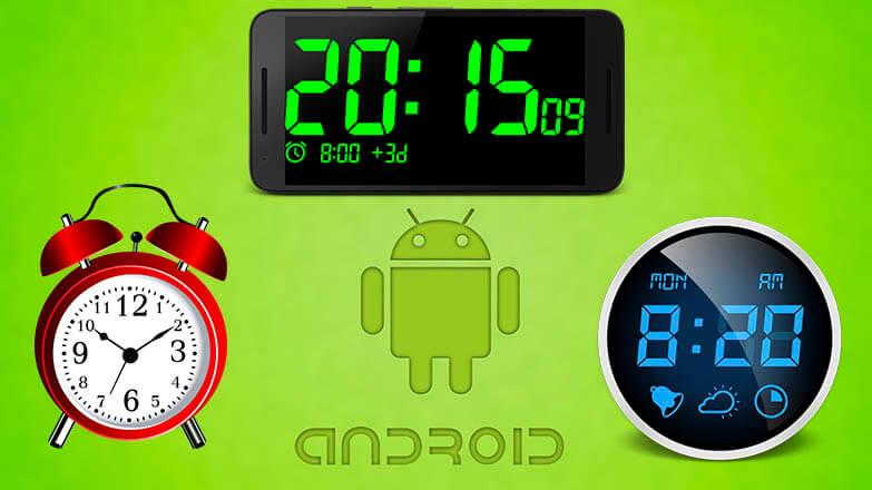 Как установить будильник на Андроид