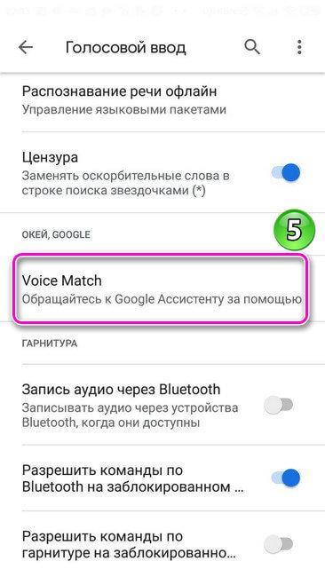 Голосовой ввод. Voic Match
