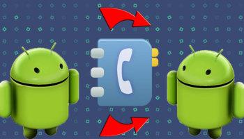 Импорт контактов с Андроида на Андроид