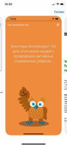 Onion Browser сравнение на iphone 3