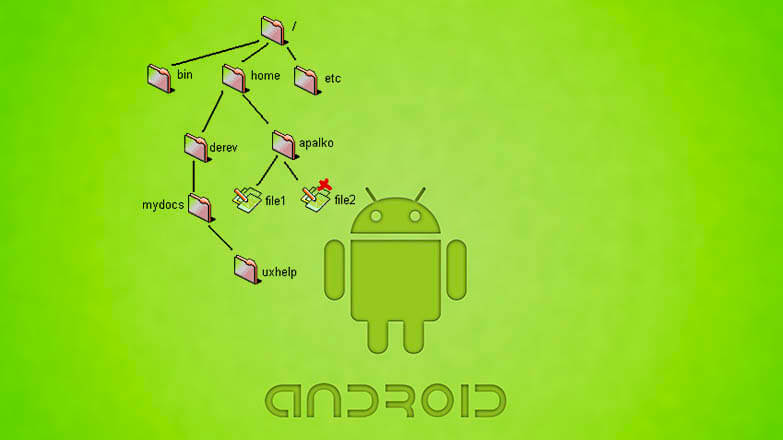Структура файловой системы Android