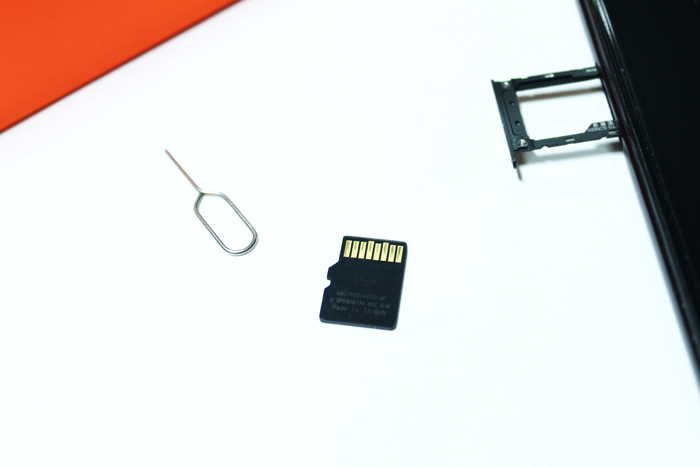 Micro SD карта телефона