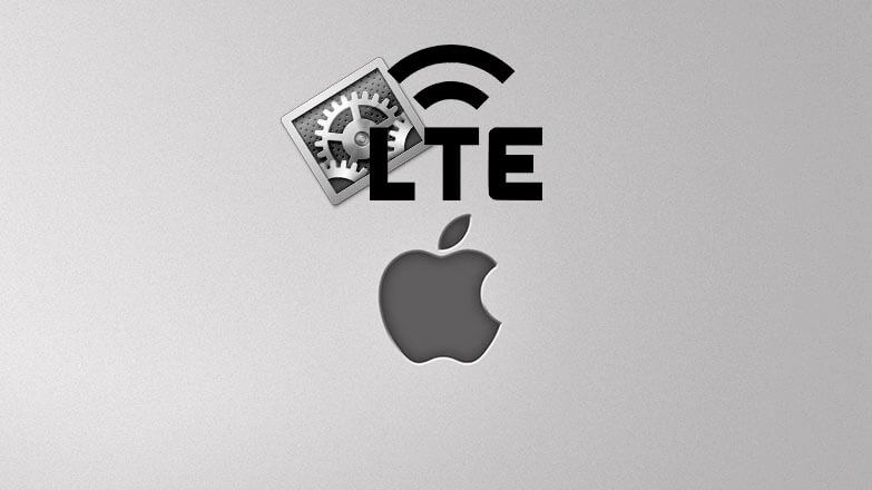 Настройка LTE на iPhone