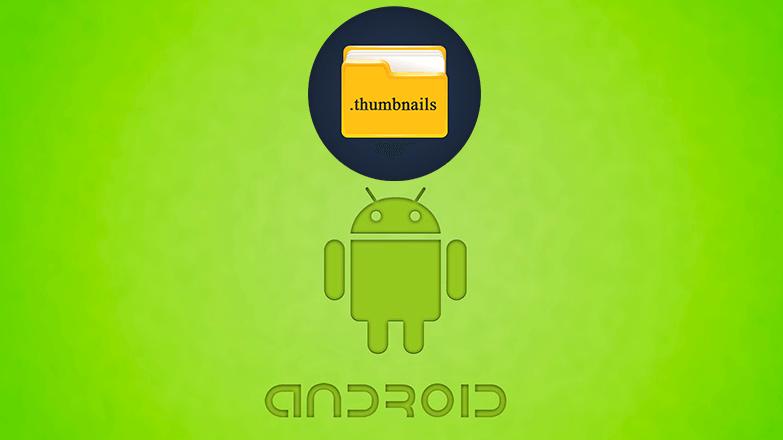 Папка thumbnails на Андроид