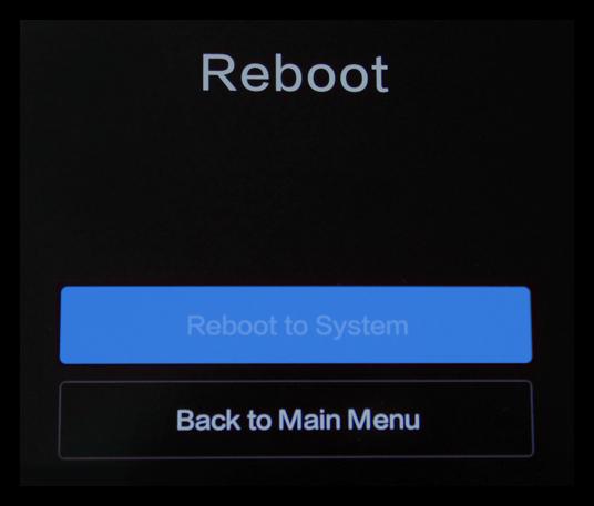 Перезагрузка телефона из Reboot to Bootloader