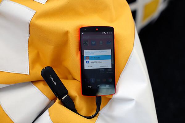 Подключение модема к смартфону через OTG