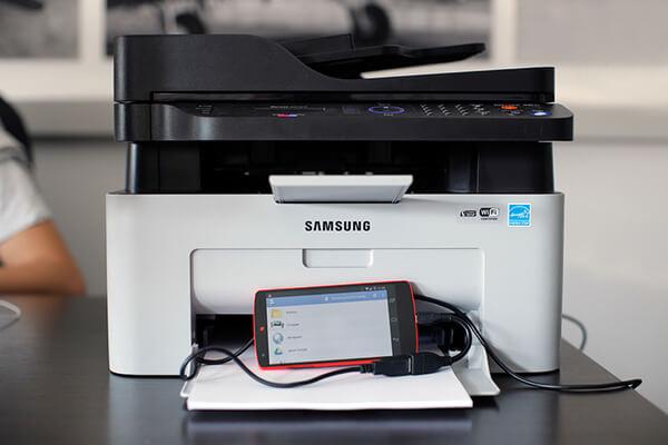 Подключение принтера к смартфону через OTG