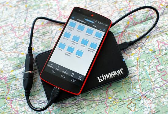 Подключение жесткого диска к смартфону через OTG