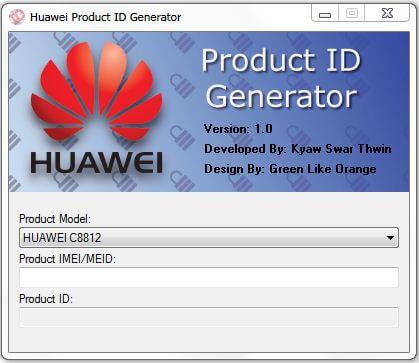Получение ID для телефонов Huawei
