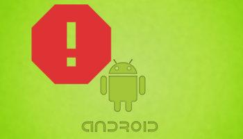 Произошла ошибка в приложении на ОС Android