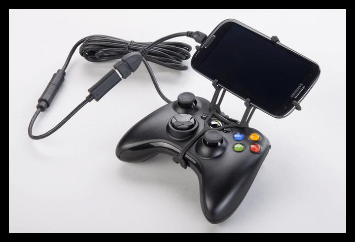 Подключение проводного геймпада к телефону Андроид