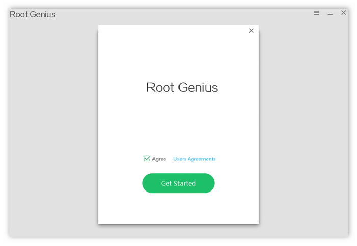 Приложение Root Genius