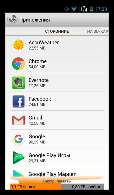 Сторонние приложения на Android