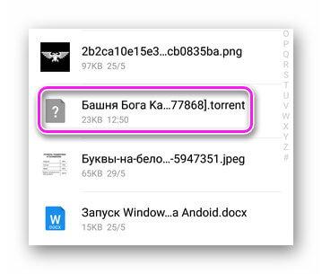 Файл для скачивания в папке downloads