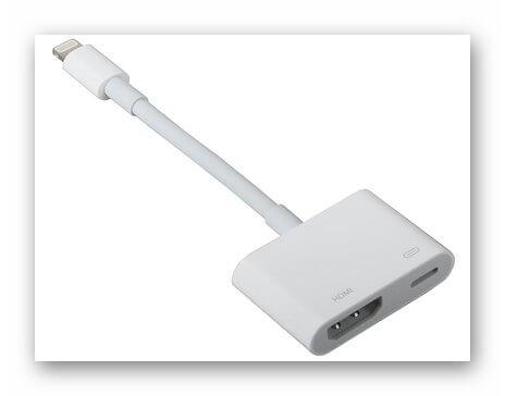 Переходник на HDMI с Lightning