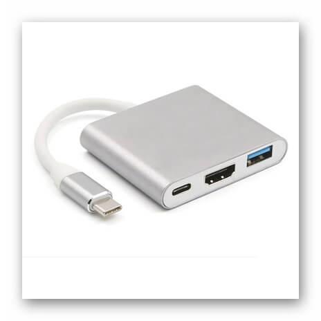 Переходник с USB Type-C на HDMI