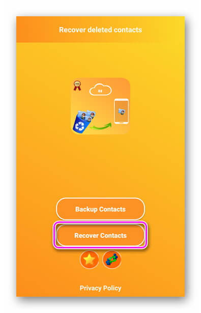 Recover Contacts