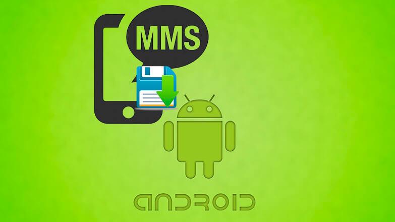 Сохранение MMS сообщение на телефоне