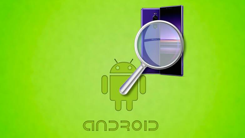 Найти Android телефон